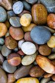 Abstrait avec des pierres rondes peeble — Photo