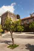 House of Casa dos Laranjais in Guimaraes, European Capital of Cu — Stock Photo
