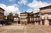Square of Oliveira in the center of Guimaraes city, European Cap — Stock Photo