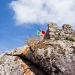 Castle of Mouros in the village of Sintra, Portugal — Stock Photo
