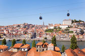 View of Douro river at Porto, Portugal — Stock Photo
