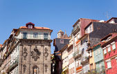 Oporto Ribeira, typical houses, Portugal — Stock Photo