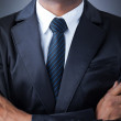 African American closeup businessman suit — Stock Photo #13648223