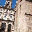 S. Francisco church at Oporto, Portugal - Stock Photo