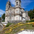 Sanctuary of Bom Jesus do Monte in Braga, north of Portugal — Stock Photo