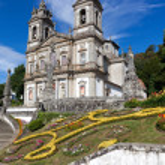 Sanctuary of Bom Jesus do Monte in Braga, north of Portugal — Stock Photo