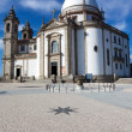Basilic of Sameiro in Braga, in the north of Portugal — Stock Photo