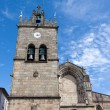 "Church of ""Nossa Senhora da Oliveira"" in Guimaraes city, Portuga - Stock Photo"