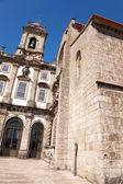 S. Francisco church at Oporto, Portugal — Stock Photo