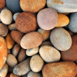 Peeble stones background — Stock Photo