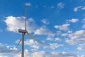 Windmill against cloudy sky — Stock Photo