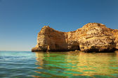 Cliffs at Algarve coast, Portugal — Stock Photo