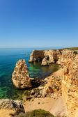Marinha beach at Lagoa, Algarve, Portugal — Stock Photo