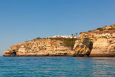 Carvoeiro Village in the top of a hill, Algarve Portugal — Stock Photo