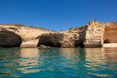 Algarve coast with cliffs and rocks, Portugal — Stock Photo