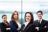 Group of business at the office — Stock Photo