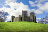 Guimaraes Castle on Spring season, Portugal — Stock Photo