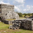 Ancient ruins of Tulum, Mexico — Foto Stock