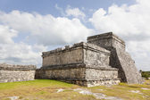 Ancient Mayan temple of Tulum, Mexico — Foto Stock