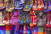 Traditional colorful bags from Mexico — Stock Photo