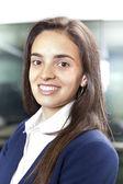 Happy smiling beautiful businesswoman portrait — Stock Photo