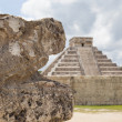 Stock Photo: Chichen Itzpyramid, El Castillo, Mexico