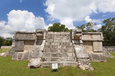 Ruins near Chichen Itza pyramid, Mexico — Stock Photo