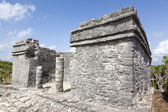 Ancient ruins of Tulum, Mexico — Stock Photo