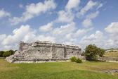 Starověké zříceniny tulum, mexiko — Stock fotografie