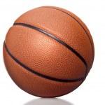 Orange basket ball, isolated on white background — Stock Photo #41013521