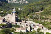 Ancient mountain village in Valldemosa — Stock Photo