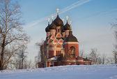 Church of Tikhvinkaya Icon of The Theotokos — Stock Photo