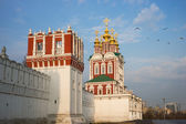 Beautiful view of Novodevichy Convent in Moscow, Russia — Stockfoto