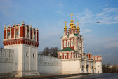 Beautiful view of Novodevichy Convent in Moscow, Russia — Stock Photo