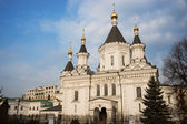 Church of archangel Michael in Moscow — Stock Photo