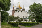 Cathedral of Our Lady of Smolensk, inside the Novodevichy conven — Stock Photo