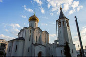 Temple of St. Nicholas in Tverskaya Zastava — Stock Photo