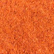 Food spice pile of red ground Paprika — Stock Photo