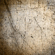 Stock Photo: Dirty and scratched material of linen as background or texture