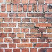 Cihlová zeď na pozadí — Stock fotografie