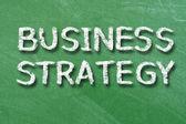 Estrategia de negocio — Foto de Stock