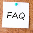 Frequently asked questions — Stock Photo #30763239