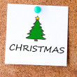Christmas tree symbol — Stock Photo #30763293