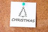 Christmas tree symbol — Stock Photo