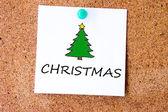 圣诞树符号 — 图库照片
