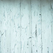 Blue wooden background — Stock Photo