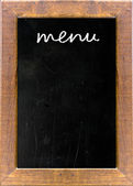 Menu title — Stock Photo