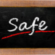 The word Safe — Stock Photo #32173995