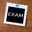 Exam — Stock Photo