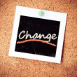 Change — Stock Photo #32204327